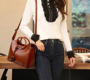 MCD High Class Leather Women Handbag photo review