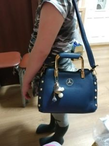 MCD Genuine Leather Women Handbag photo review