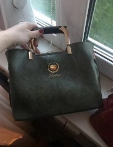 CDL New Deluxe Leather Women's Handbag photo review