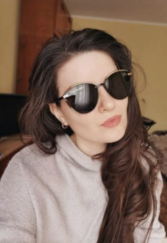 Customize Your Name with MCD Women's Polarized Glasses photo review